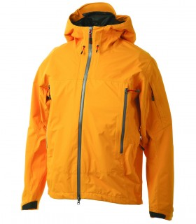 Lightweight hoodie yellow sports jacket