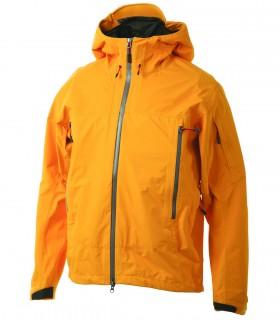 Lightweight hoodie yellow sports jacket