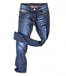 Men's slim stretch straight jean