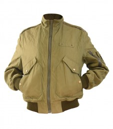 Men's classic short jacket in green